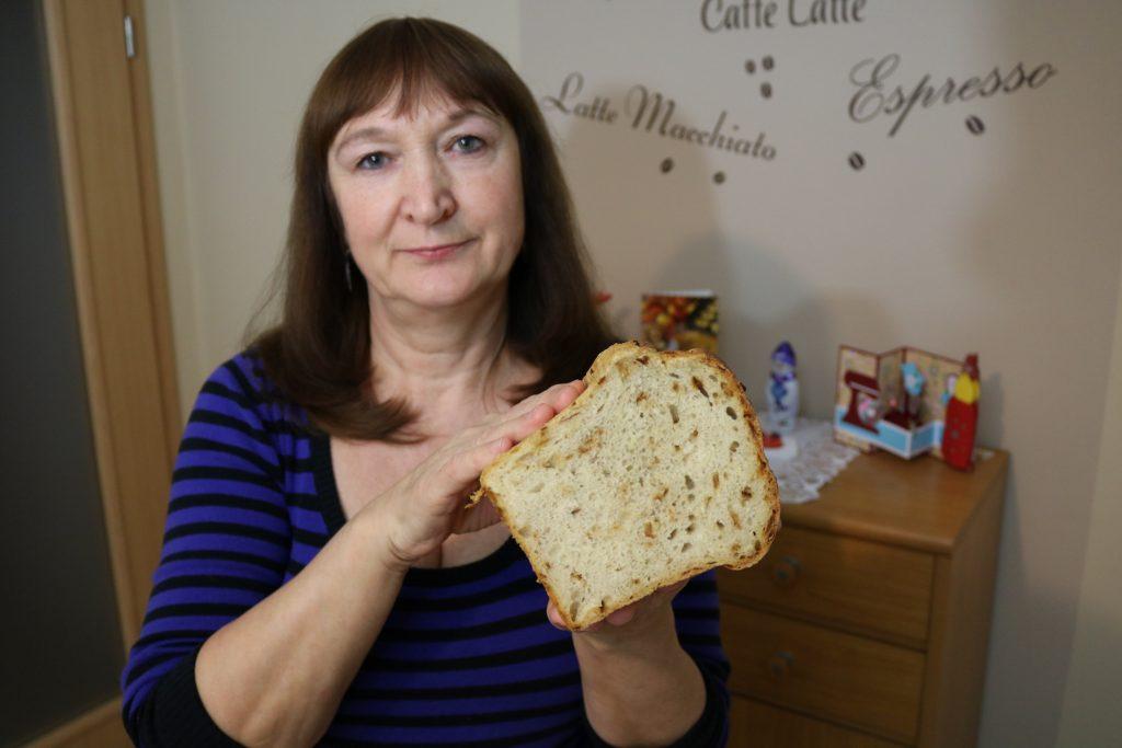 Brot mit Zwiebel