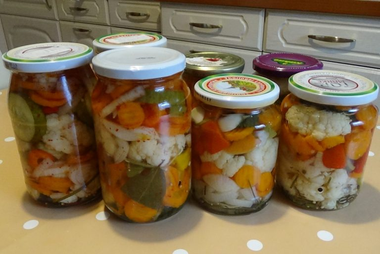 Mix-Pickles im Glas