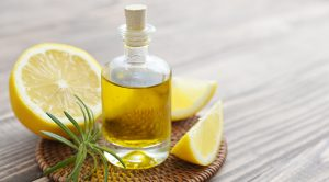Zitronenöl in der Anwendung